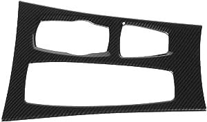 Kimiss Kohlefaser Auto Aufkleber Schalttafel Verkleidung Auto Styling Innenleiste Dekorative Streifen Für X5 X6 E70 E71 2008 2014 Auto