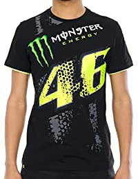 Tee shirt Valentino Rossi Monster Energy Collection Noir