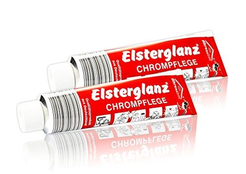 2x 150ml Elsterglanz Chrom Politur Polierpaste...