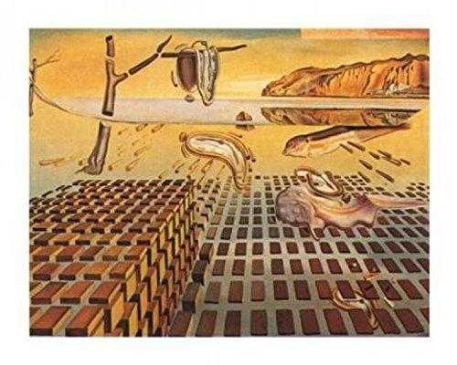 Dali - The Disintegration of The Persistence of Memory, 1952 Poster Kunstdruck 70 x 50 cm ()