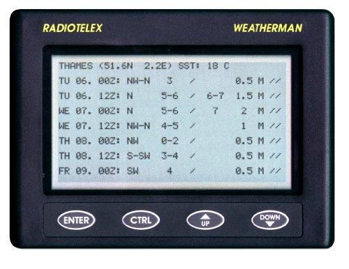 Nasa Clipper Weatherman - Ricevitore meteo nautico,