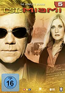 DVD CSI MIAMI SEASON 5