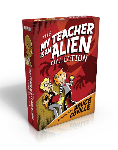 The My Teacher Is an Alien Collection: My Teacher Is an Alien; My Teacher Fried My Brains; My Teacher Glows in the Dark; My Teacher Flunked the Planet (My Teacher Books) -