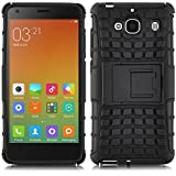 [ Xiaomi Redmi 2 / Hongmi 2 / Red Rice 2 ] - Carcasa Alligator JAMMYLIZARD Heavy Duty Case De Alta Resistencia, NEGRO