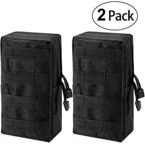 Zeato MOLLE-Beutel, Tasche - kompakt, wasserabweisend, Mehrzweck-Tasche, mit Halteschlaufe -