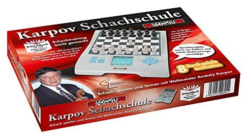 Sprechender-Schach-Computer-Schachschule-mit-Karpov-Schach-Computer-und-Lehrbuch-Empfohlen-vom-Deutschen-Schachbund Sprechender Schach-Computer (Schachschule mit Karpov: Schach-Computer und Lehrbuch) – Empfohlen vom Deutschen Schachbund -