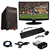 SuperTech Assembled Pc Core2Duo processor/4GB Ram/160GB Hard Disk/15.4 inch LED Monitor/Keyboard &Mouse/WiFi Adopter