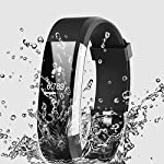 Smart Watch Waterproof IP67 Activity Tracker With Heart Rate Monitor Fitness Tracker With 14 Exercise Modes Sleep Monitor With GPS Route Tracking Pedometer Step Counter With 4 Watch Faces Smartphone