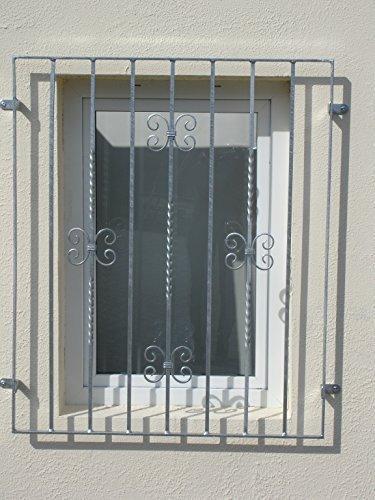 Fenstergitter Mercur Sicherheitsgitter Gitter Fenster Feuerverzinkt 1070x1055 mm