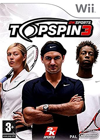 Jeux Wii Tennis - Top Spin