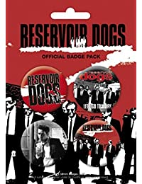 Reservoir Dogs Badge Pack - 4 X 38mm Badges (6 x 4 inches)