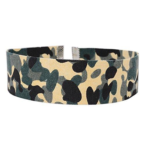 LybShp Halskette Denim Armee Grün Camouflage Denim Denim Halskette Schmuck -