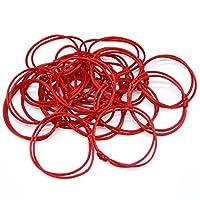 Coolrunner Lot - 12 Kabbalah Red String Bracelets Evil Eye Jewelry Kabala Charm Fashion Bangle (Red 12)