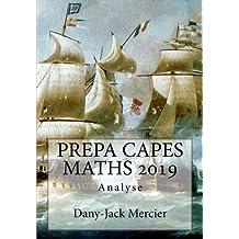 PREPA CAPES MATHS 2019 Analyse