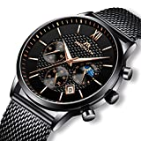 Best Designer Watches - Mens Watches Men Military Waterproof Chronograph Date Black Review