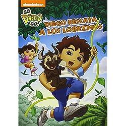 Go Diego Go: Diego Rescata A Los Lobeznos [DVD]