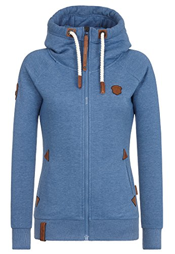 Naketano Female Zipped Jacket Blonder Engel Blue Melange, S