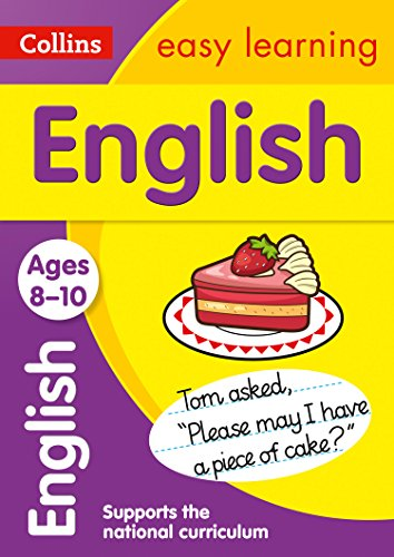 English Ages 8-10: motivating English practice for year 5 (Collins Easy Learning KS2)