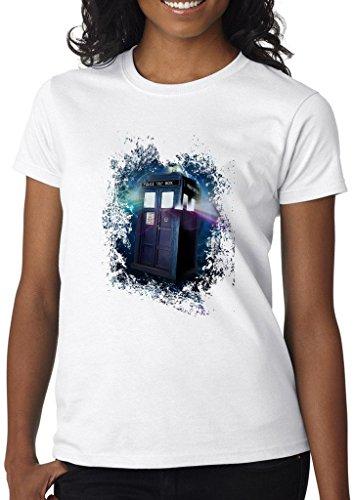 Doctor Who TV Series Fan Women' s Shirt Custom Made T-shirt (L)