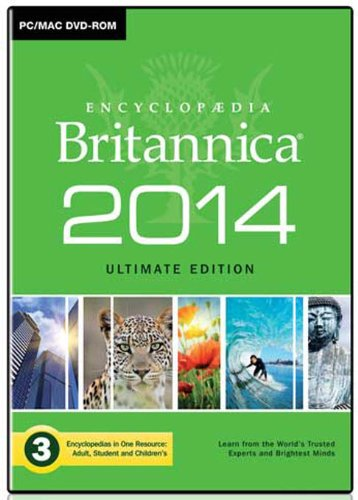 Encyclopaedia Britannica 2014 Ultimate Edition [import anglais]
