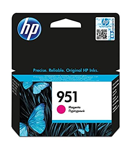 HP 951 Cartouche d'encre Magenta Authentique (CN051AE)