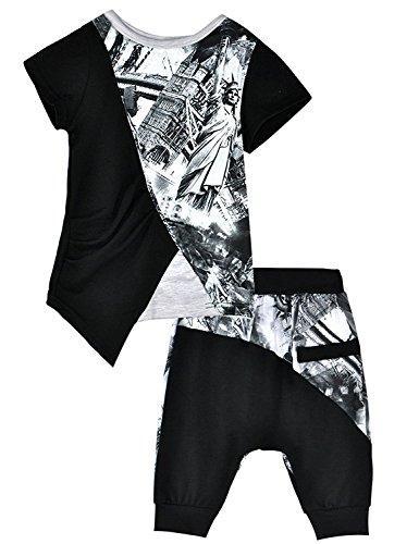 Little Sorrel Junge Bekleidungssets Baby Sommer Baumwolle Kurzarm T-shirt und Shorts Coole Kinder Kleidung Set 1 - 7 Jahre