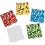 Pack of 12 - Digital Block Notepads - Stocking Party Loot Bag Fillers