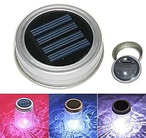 express panda solaire verres couvercle lumi re monde lumi re led solaire pour verres amazon. Black Bedroom Furniture Sets. Home Design Ideas