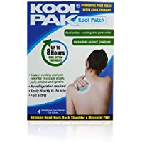 Koolpak Kool Schmerzlinderung Patch, 13x 9,5cm, 4Stück preisvergleich bei billige-tabletten.eu