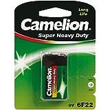 Camelion 10000122 Super heavy duty batterijen 6F22 9 volt blok / 1 stuk
