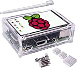 Kuman 3.5 inch 320*480 Resolution Touch Screen TFT LCD Display With Protective Case + 3 x Heat sinks+ Touch Pen for Raspberry Pi 3 Model B, Pi 2 Model B & Pi Model B+ SC11