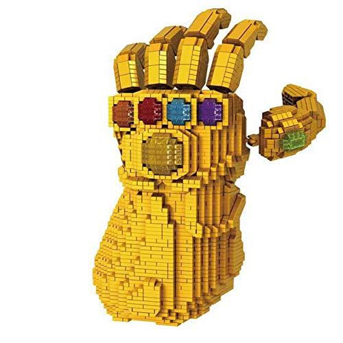 HLDX 4100 Stücke Film Big Villain Rollenspiel Handschuhe Bausteine   Spielzeug. Boy Dream Toy Spielzeug Bibliothek Sammlungssatz