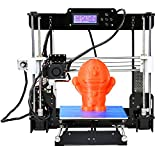 Win-Tinten Intelligence Desktop A8 Prusa I3 3D-Drucker DIY-Kits, Holz DIY Kit Prusa i3 3D Desktop Drucker, hohe Präzision DIY 3D Drucker (Prusa I3 3D Printer)
