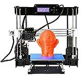 Win-Tinten A8 Acryl 3D Drucker Hohe Präzision MK8 Reprap i3 DIY Kit & LCD2004 & 8G SD-KARTE (A8-Y8)