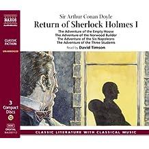 Return of Sherlock Holmes, 3 Audio-CDs