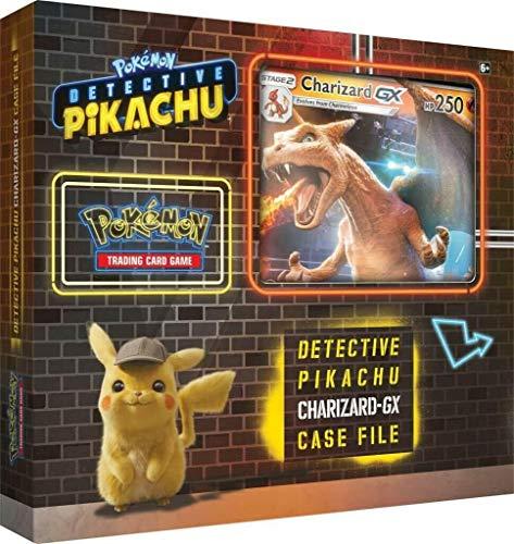 Lively Moments Pokemon Karten Detective Pikachu Fallakte Charizard / Glurak - GX Display EN English Promo Sammelkarten Spielkarten (Glurak Karte Pokemon)