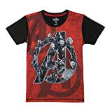 #8: Avengers Boys' Plain Regular Fit T-Shirt
