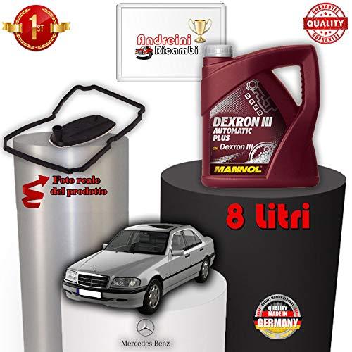 KIT FILTRO CAMBIO AUTO E OLIO C 220 CDI W202 92KW 1997 -> 2000 1015