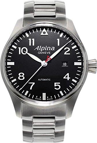 Alpina Geneve Pilot AL-525B4S6B Reloj Automático para hombres Alpina Rotor