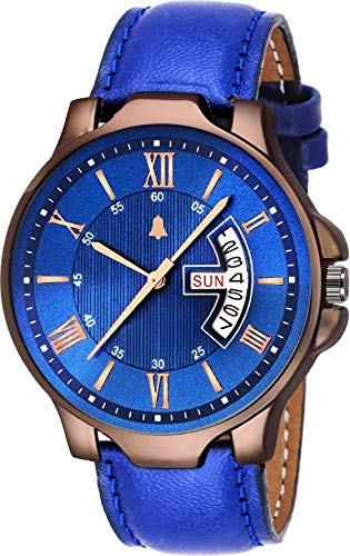 XAVIER New Trending Analogue Blue Dial Day & Date Watch for Men & Boys