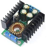 WINGONEER DC 24V a 12V CC CV Step Down Volt Regolatore corrente costante / tensione 12A DC regolabile Buck Converter 7-32V Per 0.8-28V LED Driver Power Supply