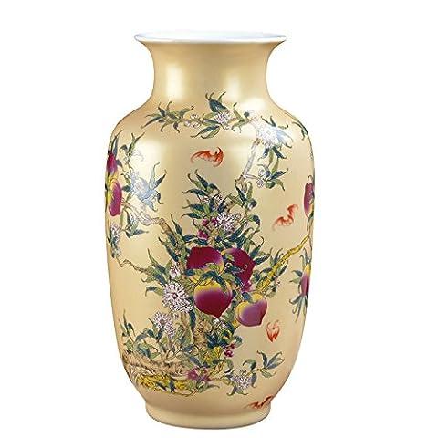 Maivas décorée Vase pour le Meuble TV Salon Étude Fontaine Fushou moderne Décoration