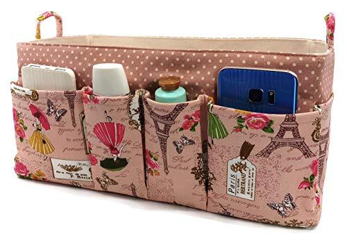 K&M Quality Product Extra große Geldbörse Organizer Einsatz 35,6 cm leichte Handtasche XL Tote Frauen Langlebig Speedy 40 Neverfull GM Multi Pocket LV, Pink (Old Rose Eiffel), X-Large -