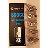 Autentico Kanger SSOCC resistenza Nichel Kangertech 0,15 ohm Ni200 per Serie Subtank / Serie ...