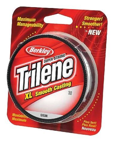 Berkley Trilene XL Clear Monofilament Line 300yd Spool 8lb - 17lb Coarse Game Carp Main Line (10lb)