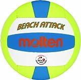 Molten Beach Attack Beachvolleyball Gr. 5, Weiß/Gelb/Blau 5