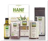 Probierset Hanf Bio Lebensmittel mit Kochbuch