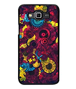 printtech Awesome Design Floral Pattern Back Case Cover for Samsung Galaxy Grand 3 G720::Samsung Galaxy Grand Max G720