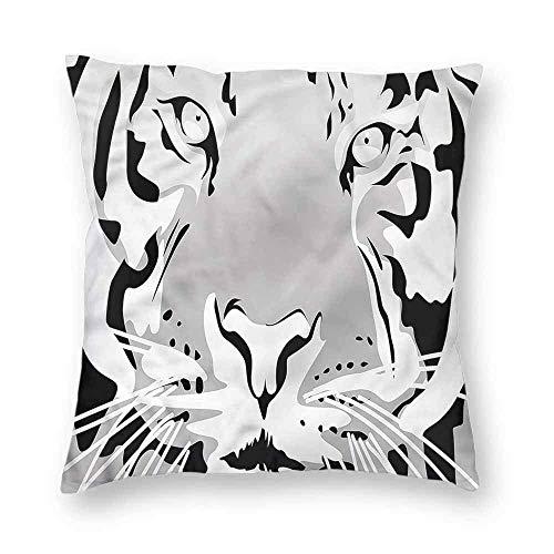 Dress rei Animal Square Form Decorative Pillow Safari Theme Africa Wildlife Sofa or Bed Set 18x18 Inch -