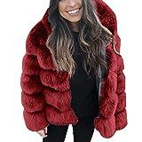 Resplend Mode Jacke Mantel Winter Warmer Strickjacke Outwear Kurzer Nerzmäntel Einfarbig Pelzmantel Overcoat 2018 Kunstpelzmantel Winterjacke